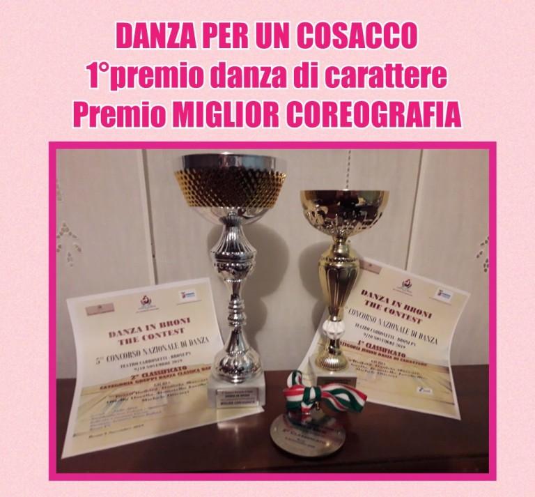1° premio danza di carattere