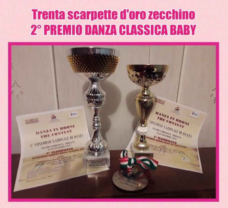 2° premio danza classica baby