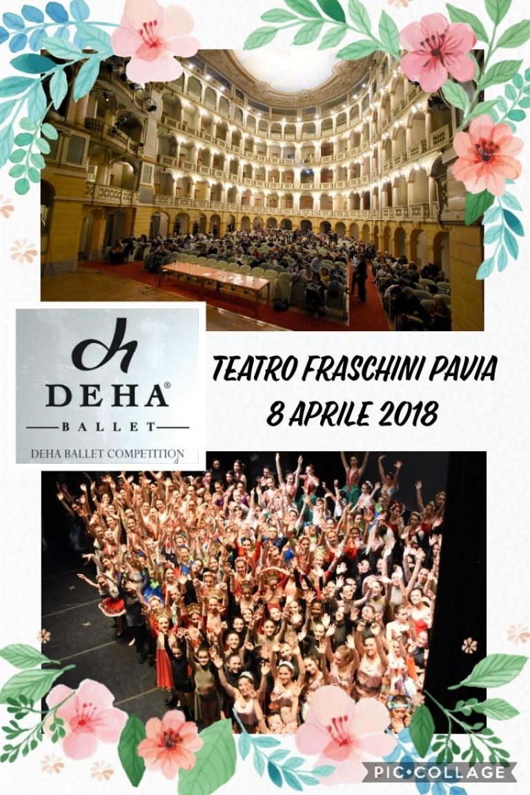 Collage 2° Premio Deha Ballet Competition