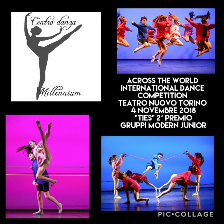 Across the World International Dance  Competition - 2° premio - Modern Junior