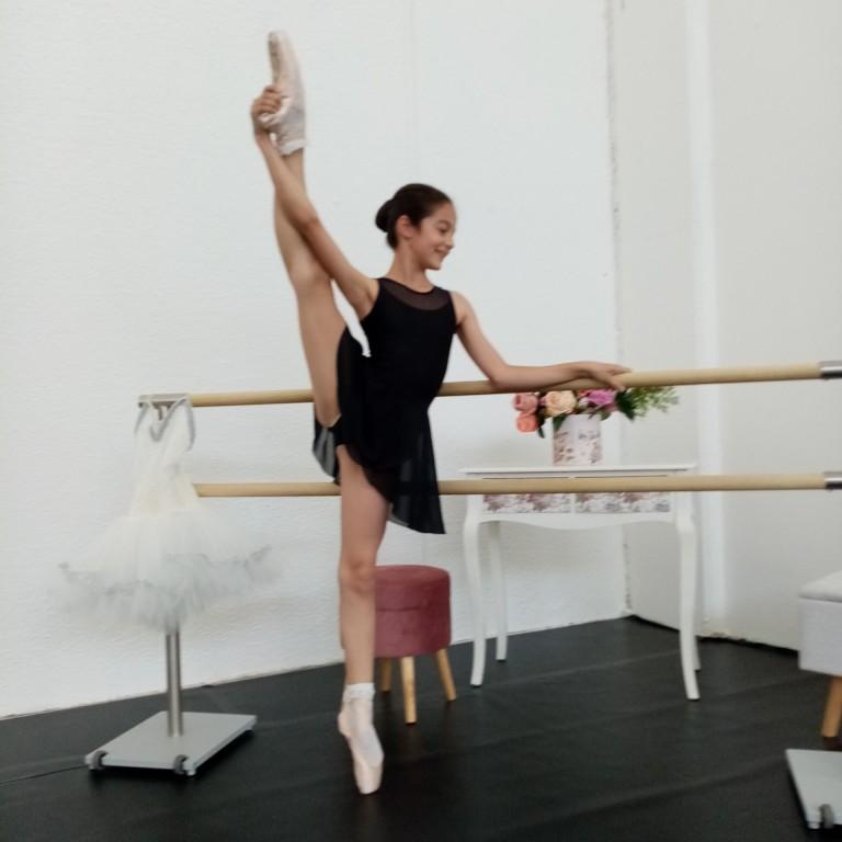 Ballerina della scuola di danza a Varese