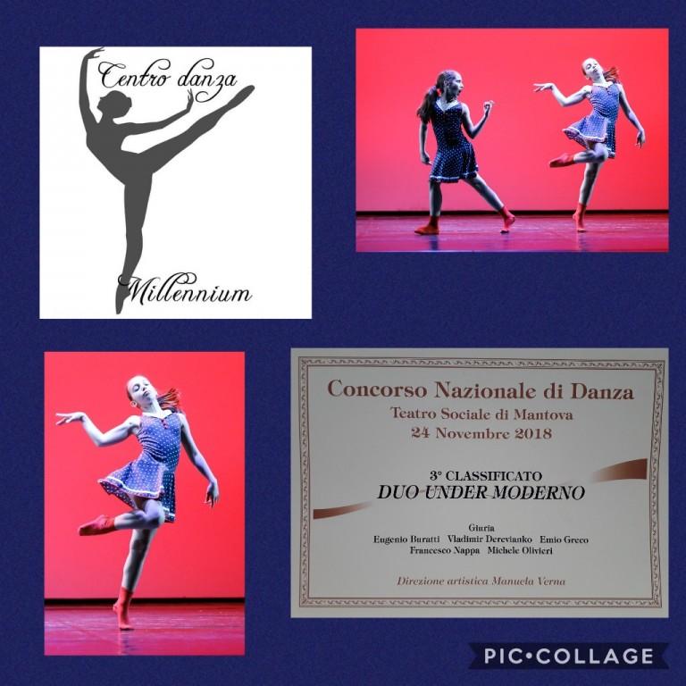 Collage Concorso Nazionale di Danza - Duo Under Moderno