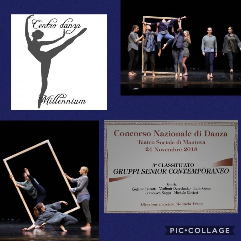 Collage Concorso Nazionale di Danza - Gruppo Senior Contemporaneo
