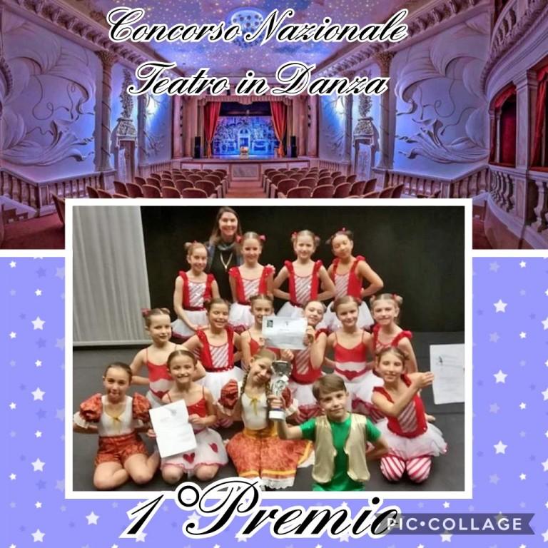 Flyer 'Concorso Nazionale Teatro in Danza'