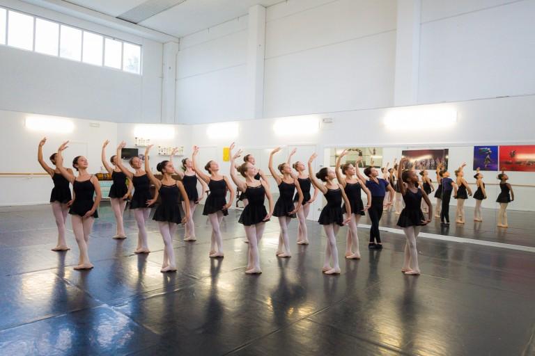Lezione di danza classica - corso accademico