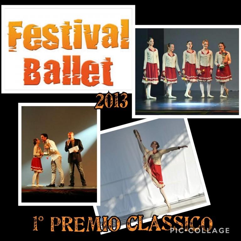 Flyer 'Festival Ballet 2013'