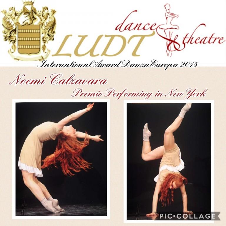 Noemi Calzavara a International Award Danza Europa 2015
