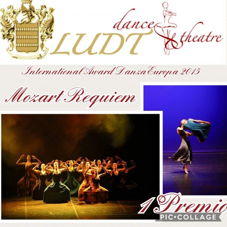 Flyer 'International Award Danza Europa 2015'