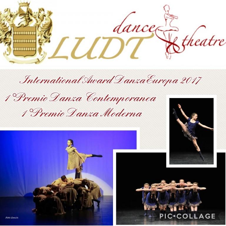 Flyer 'International Award Danza Europa 2017'