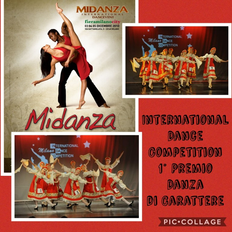 Flyer 'Midanza 2010 - International Dance Competition'
