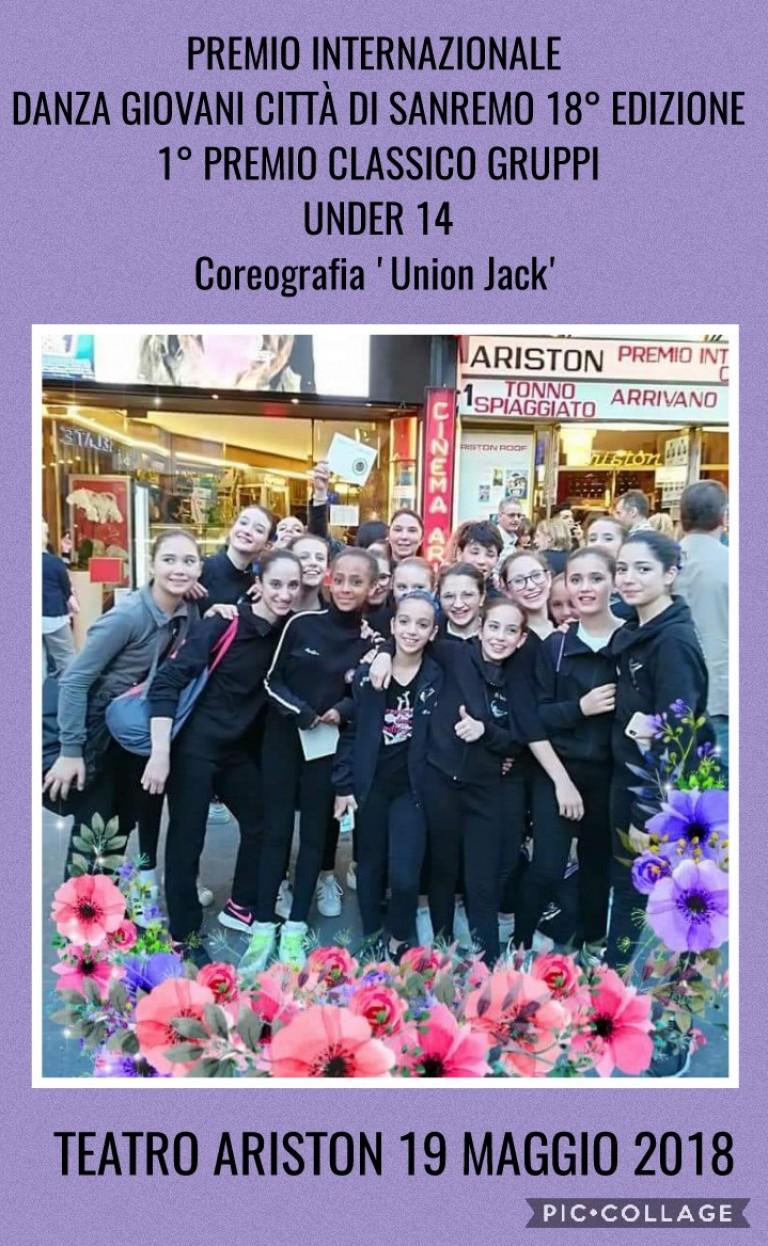 Primo Premio Internazionale di Danza Giovani a Sanremo, Teatro Ariston