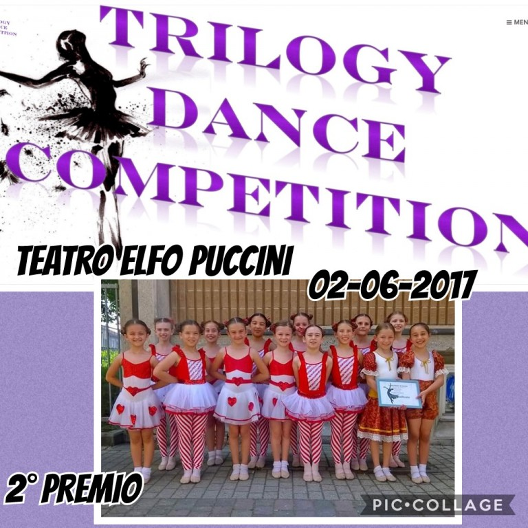 Flyer 'Trilogy Dance Competition 2017'
