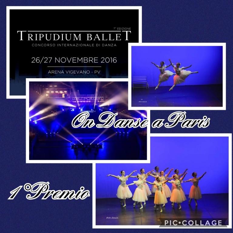 Flyer 'Tripudium Ballet 2016'