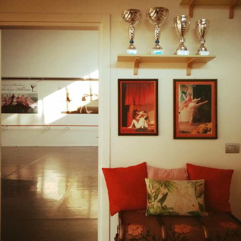 Trofei della scuola di danza