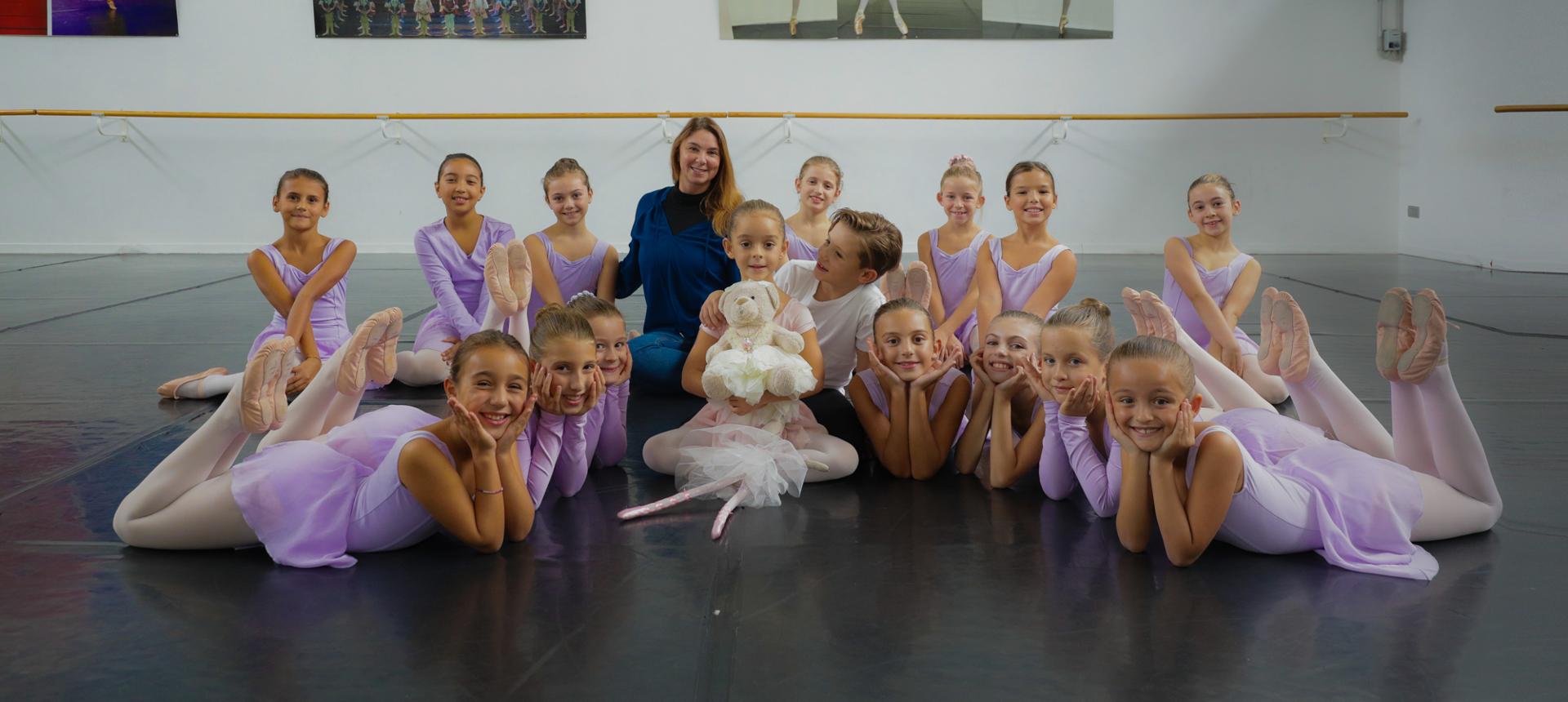 Corso di danza per bambini della nostra scuola di danza