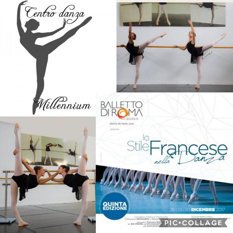 Copertina concorso: Stage al Balletto di Roma con professori dell'opera di Parigi