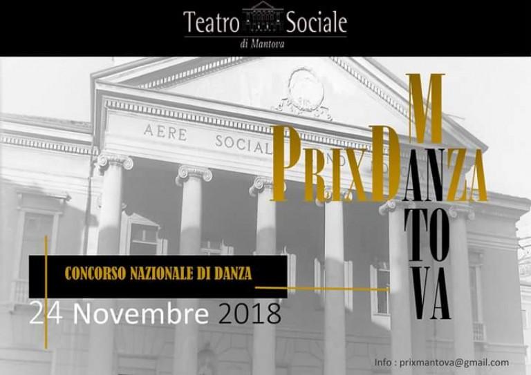 Copertina Concorso di danza Prix Mantova