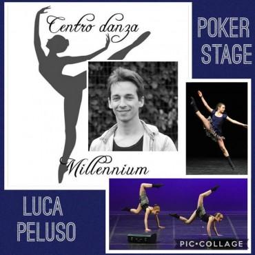 Locandina stage di danza con Luca Peluso