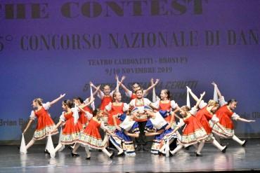 Primo premio e premio miglior coreografia al concorso nazionale danza in broni